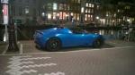 10 Teslas in Amsterdam
