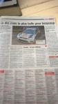 Belgian news paper